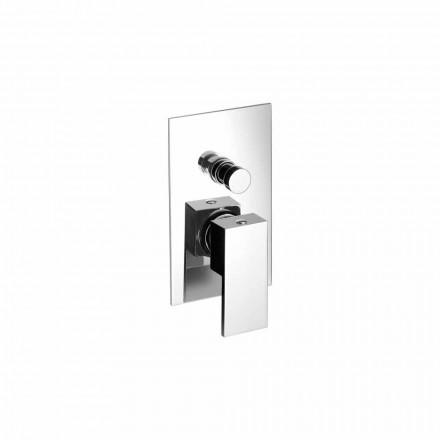 Misturador para banheira ou chuveiro embutido de latão Made in Italy - Bibo
