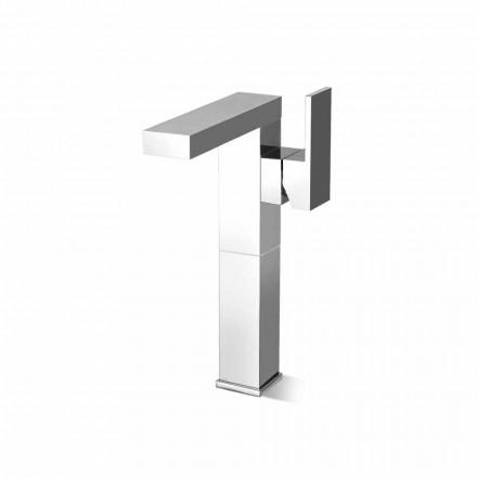 Misturador para pia de banheiro de design Made in Italy com alavanca lateral - Panela