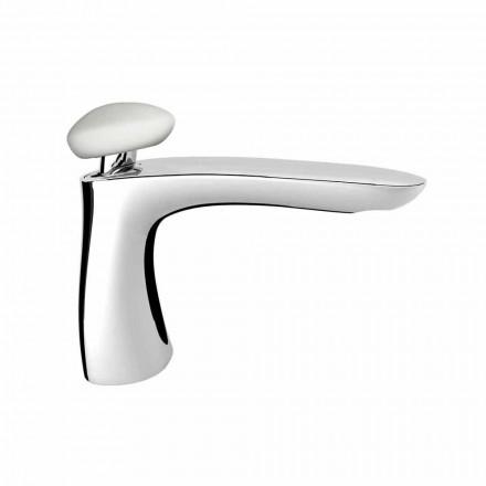 Misturador moderno para pia de banheiro de latão feito na Itália - Besugo