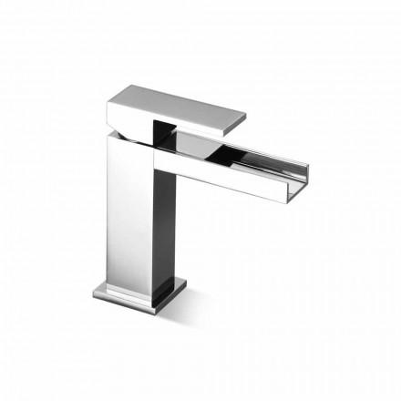Misturador para lavatório de design sem ralo Made in Italy - Bibo