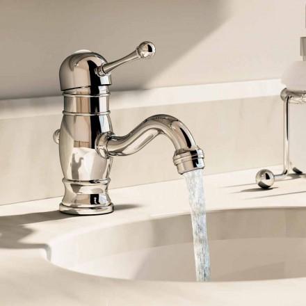 Misturador para lavatório em latão cromado 150 mm de altura Made in Italy - Binsu