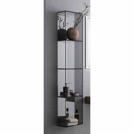 Armário de banheiro Adelia com 4 prateleiras, L300x H1400 mm