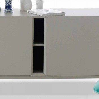 My Home Mirage design buffet em MDF lacado H71xL210cm made in Italy
