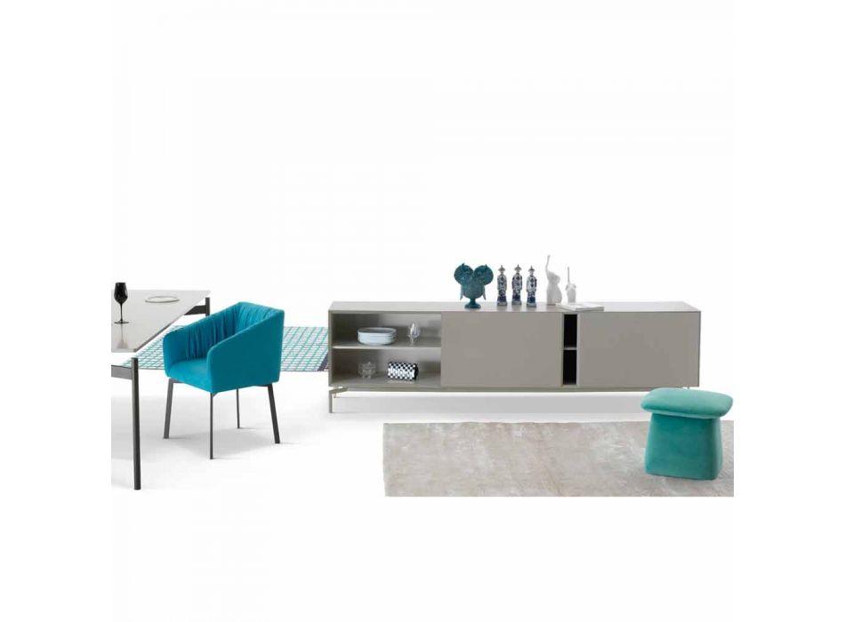 My Home Mirage design buffet em MDF lacado H71xL210cm made in Italy