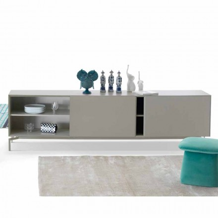 Aparador longo Mirage em MDF made in Italy by My Home, design moderno