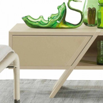 My Home Ray design buffet sideboard MDF lacado mate L160xH35cm made in Italy