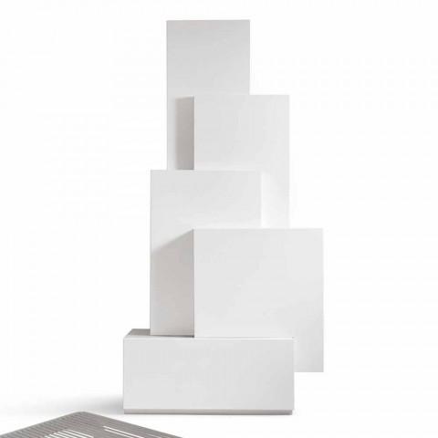 Minha casa Tetris móvel sala de estar torre design MDF H196cm made in Italy