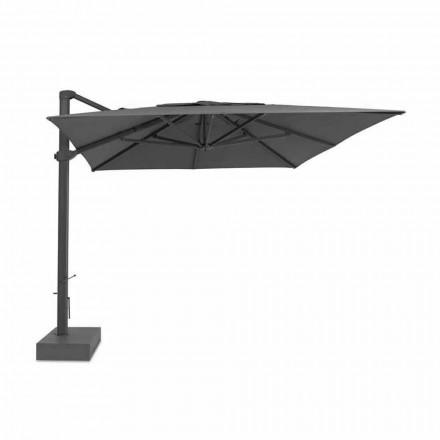 Guarda-chuva externo, 3x4 mt com capa de tecido de luxo - Athena by Talenti