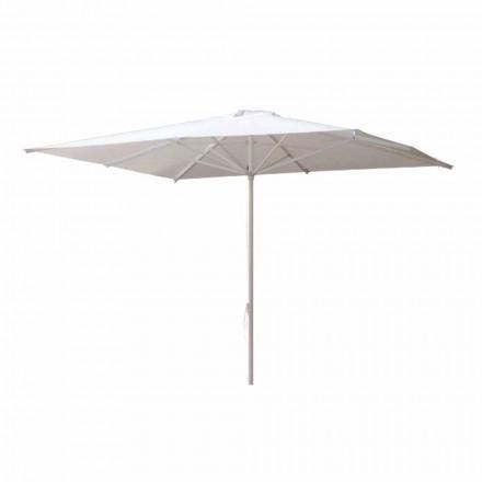 Guarda-chuva de Jardim em Tecido Acrílico e Alumínio Made in Italy - Solero