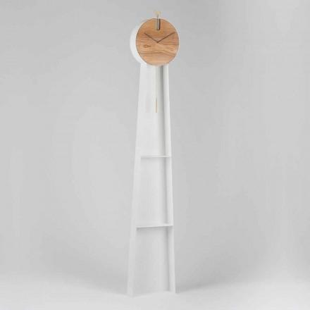 Relógio de Pêndulo de Design com Estrutura de Aço Fabricado na Itália - Pendolino