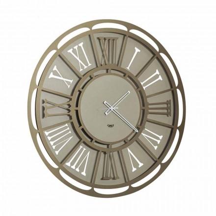 Relógio de parede de ferro moderno fabricado na Itália - Classicone