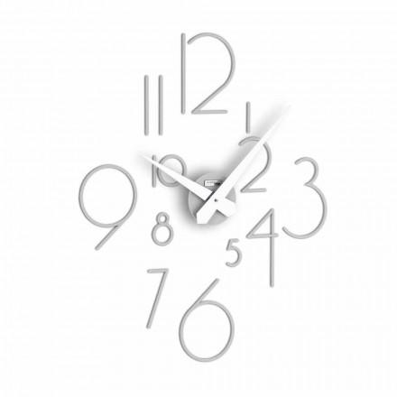 Relógio de parede grande com um design moderno Marte, feito na Itália