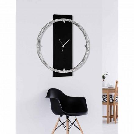 Relógio de parede Agostino, feito na Itália, duas combinações de cores disponíveis