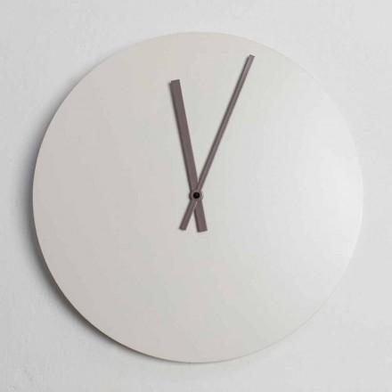 Relógio de parede colorido moderno design industrial fabricado na Itália - Fobos