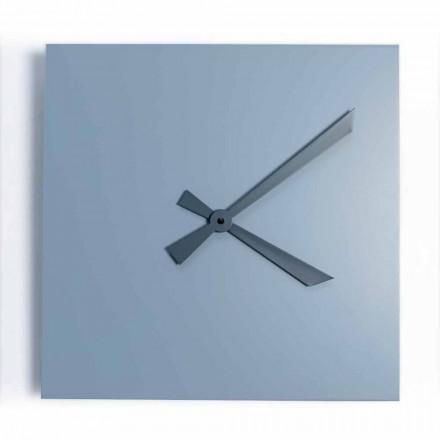Relógio de parede quadrado industrial e moderno de design italiano - Titan