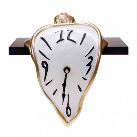 Relógio de mesa de resina com mecanismo de quartzo Made in Italy - Cate
