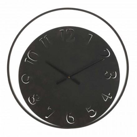 Relógio de parede redondo Diâmetro 60 cm Moderno em ferro - Beatrix