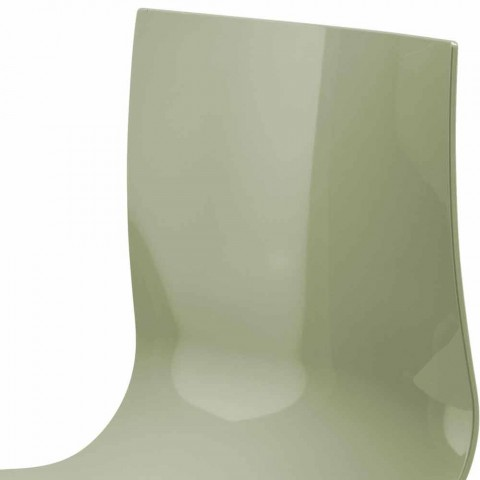 Bancada 3 Lugares em Aço e Tecnopolímero Reciclado Colorido - Verenza