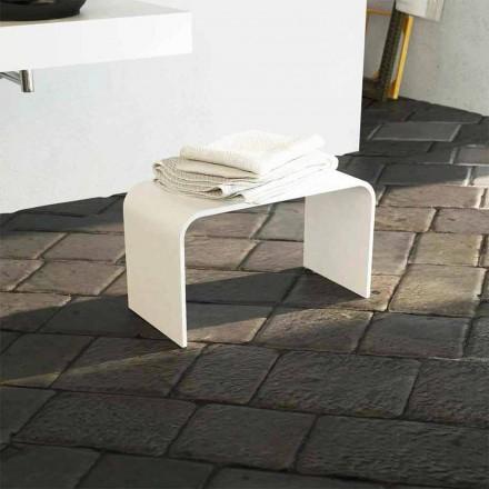 Design moderno banco de banho longo produzido 100% na Itália Recanati