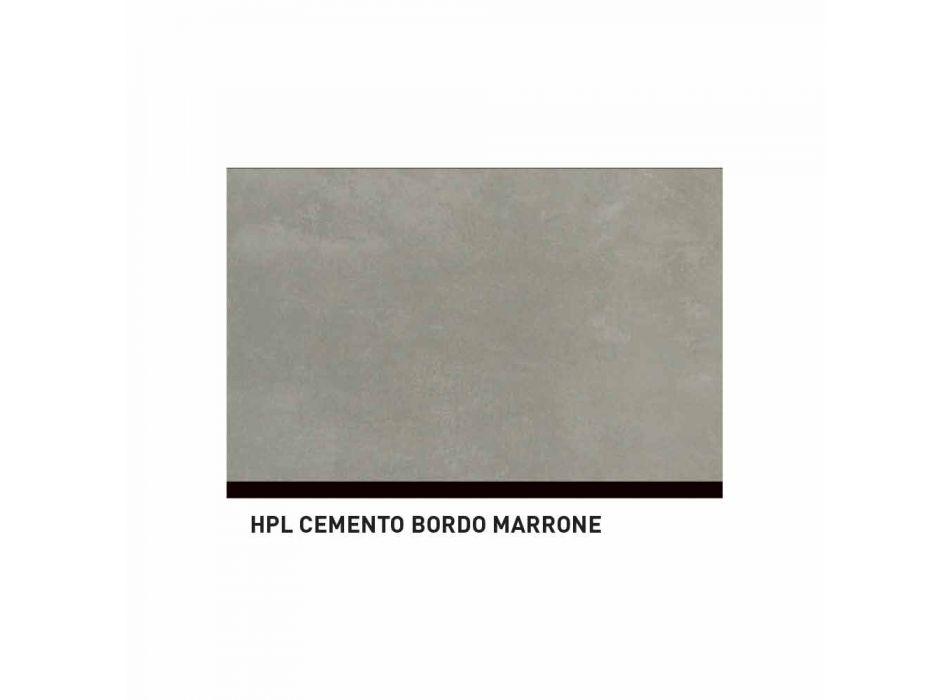 Bancada exterior Varaschin System em alumínio pintado