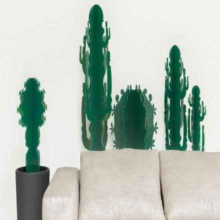 Plantas ornamentais em plexiglass, em várias cores, H 102 cm, Braies