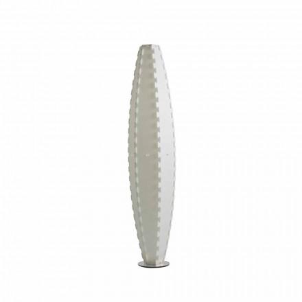 Luminária de pé design moderno Gisele, made in Italy, Ø34 x A 155 cm