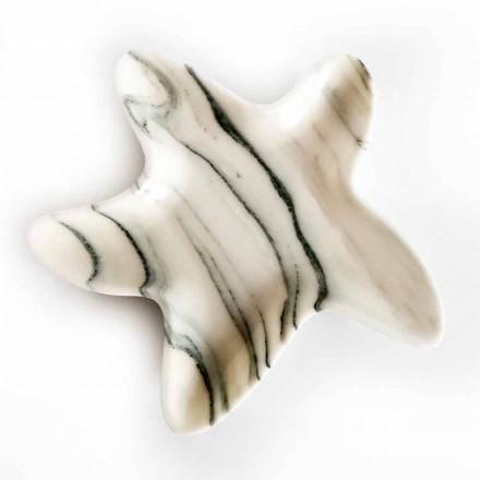 Pires de mármore modernos em forma de estrela do mar feitos na Itália - Ticcio