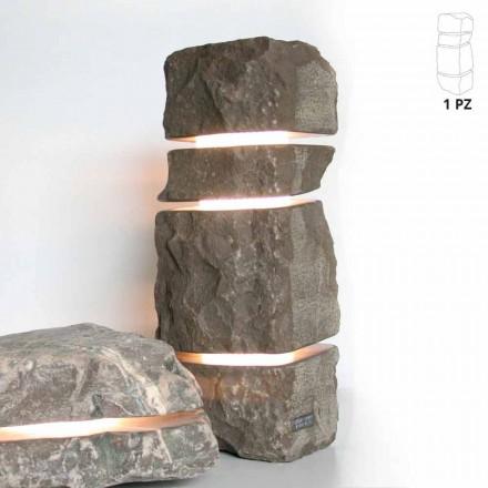 Pedra de mármore brilhante da Fior di Pesco Carnico com 3 cortes em Stonehenge