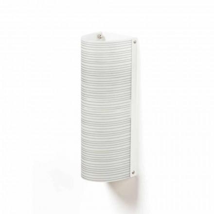 Luz de teto moderna 2-luz Debby, feita de polipropileno, 18x16 cm
