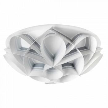 Lâmpada de teto 2 luzes design moderno, diâmetro 43 cm, Lena, fabricados na Itália