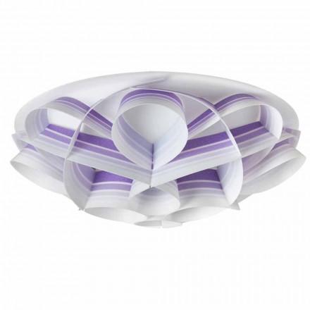 Lâmpada de teto design moderno Lena, feita na Itália, 70 cm diam.