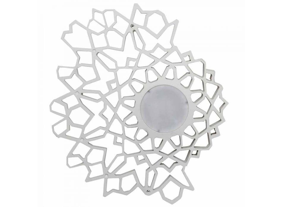 Aplique de plafon em Tecnopolímero Branco ou Dourado Design 2 Tamanhos - Catedral