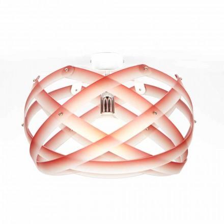 Luz de teto design moderno Vanna com decorações de 40 cm diam