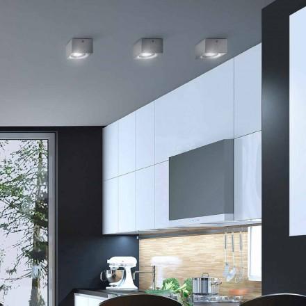 Plafon moderno de forma quadrada Nadir by Aldo Bernardi