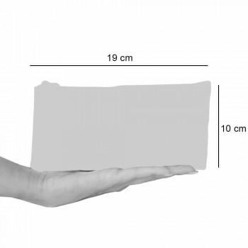 Bolsa de embreagem de algodão de uma peça impressa à mão, 2 peças - Viadurini by Marchi