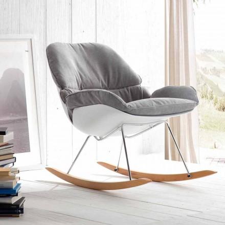 Cadeira de balanço Acacia, design moderno