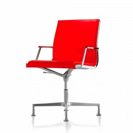 Cadeira executiva de pele / tecido Nulite by Luxy, modern design