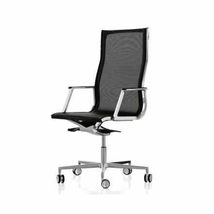 Cadeira executiva Nulite by Luxy, design moderno