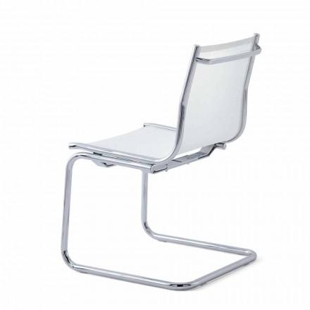 Cadeira de escritório de malha sem braços Light by Luxy