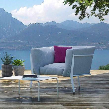 Poltrona de design moderno e feito na Itália para exterior ou interior - Carminio1