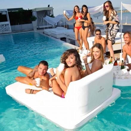 Cadeira de piscina flutuante moderna Magnum by Trona, fabricada na Itália