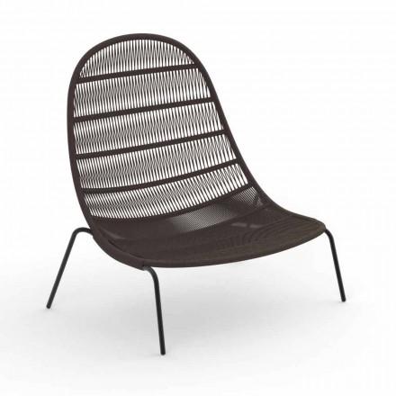 Poltrona Garden Lounge em Alumínio e Tecido - Panama by Talenti