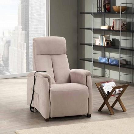 Cadeira dupla reclinável com braço motorizado Via Venezia