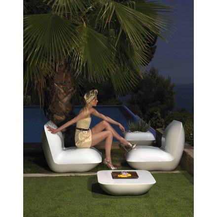 Poltrona moderna para jardim, confeccionada com travesseiro de polietileno by Vondom
