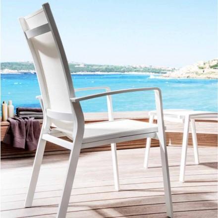 Cadeira reclinável moderna de exterior Lady by Talenti