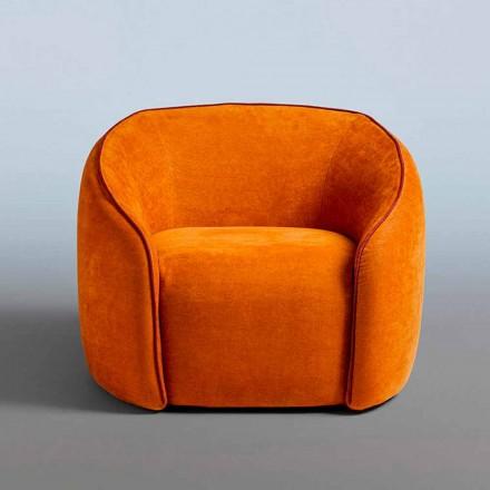 Poltrona Relax Design Moderno Feito na Itália em Tecido Colorido - Baloo