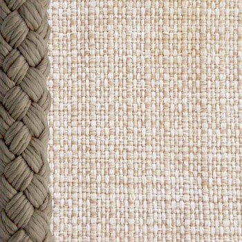 Poltrona ao ar livre em corda e tecido Cliff Talenti by Palomba