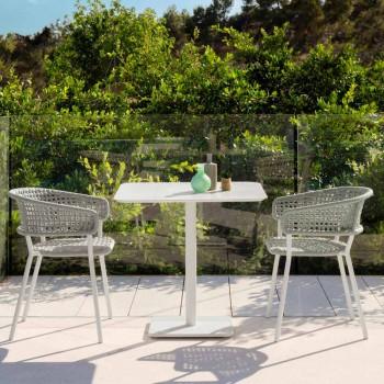 Moon Alu Talenti poltrona de jardim de alumínio, design moderno