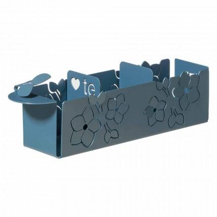 Porta Os Saquinhos do Floral do Design Moderno em Ferro Made in Italy - Marken