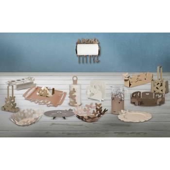 A produção moderna de artesãos com suporte para sacolas de ferro, fabricada na Itália - Leiden